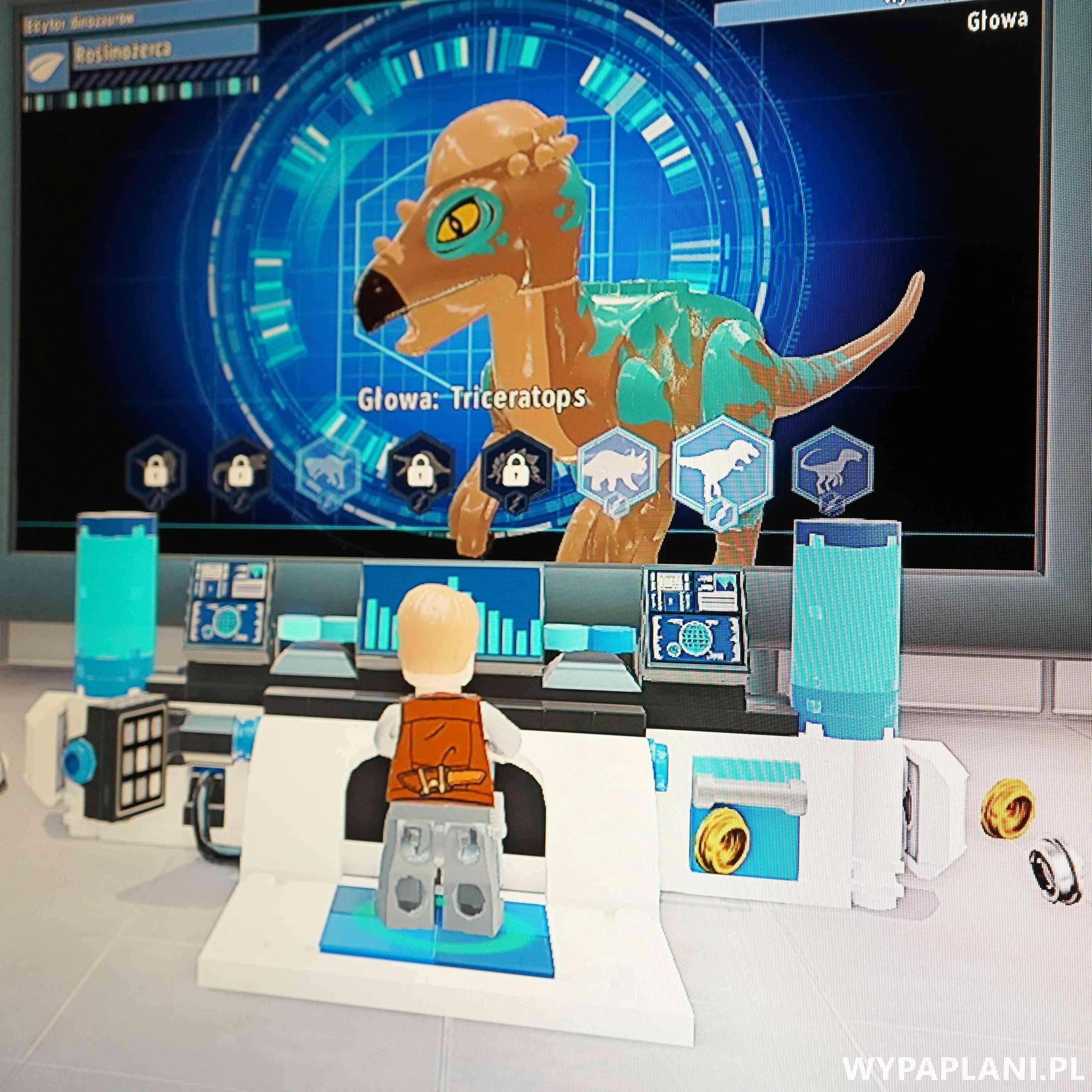 lekcja prehistorii z lego jurassic world xbox one
